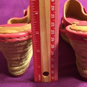 b.o.c. Shoes - B.O.C. Pink wedges Sz7